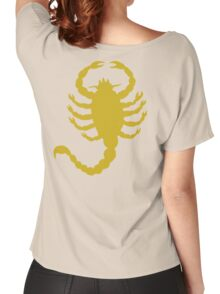 DRIVE SCORPION (GOLD) Women's Relaxed Fit T-Shirt