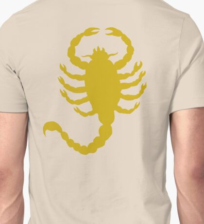 DRIVE SCORPION (GOLD) Unisex T-Shirt