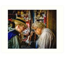 The Old Wives Tale Art Print