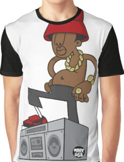 Evolution Of The B-Boy - LL Cool J Graphic T-Shirt