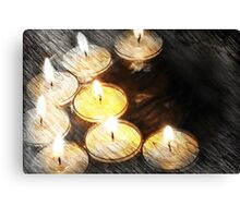 By Candlelight Canvas Print
