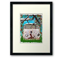 Kombi Creation Framed Print