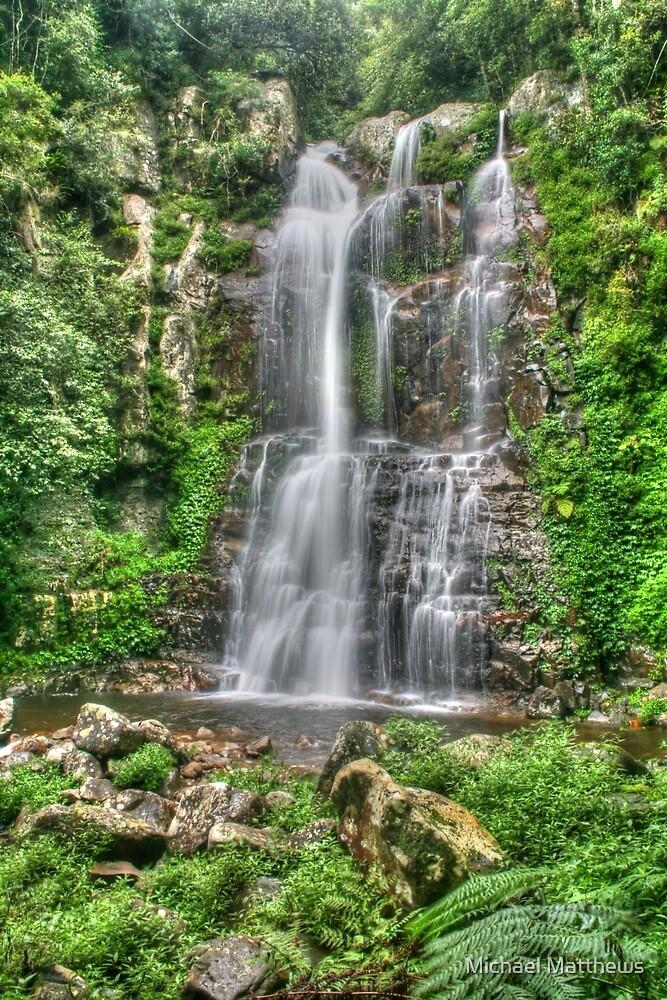 Minnamurra Falls by Michael Matthews
