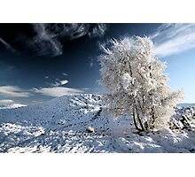 Glencoe winter landscape Photographic Print