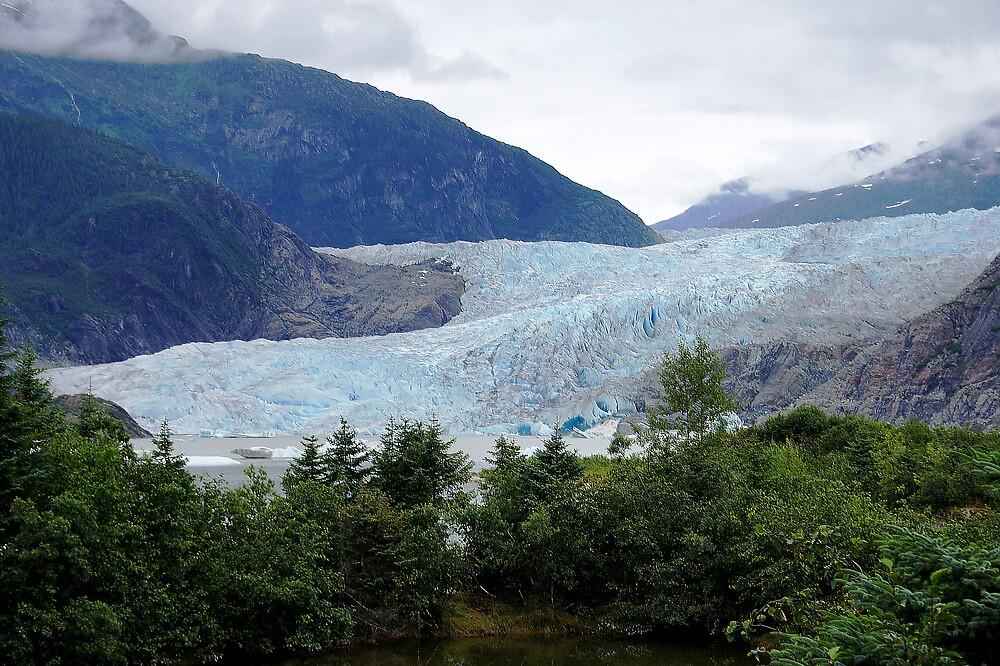 Mendenhall Glacier by Braedene