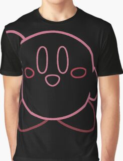 Minimalist Kirby With Face Graphic T-Shirt