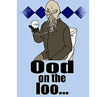 Ood on the loo...  Photographic Print