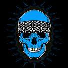Bandanna Skull by Tom  Ledin