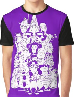Day at the Mansion Graphic T-Shirt