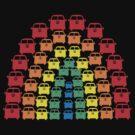 Kombi Rainbow by Bami
