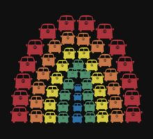 Kombi Rainbow T-Shirt