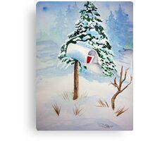 Christmas Mail Canvas Print