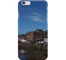 Oban, Scotland seawall iPhone Case/Skin