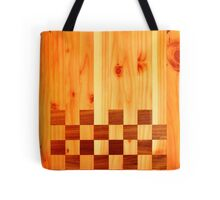 Indian Chess Turkey Table Portrait Tote Bag