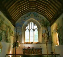 St Cosmos and St Damian, Challock - Chancel by Dave Godden