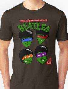 teenage mutant ninja beatles T-Shirt