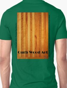 Official Curb Wood Art T shirt T-Shirt