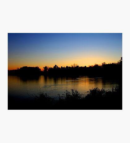 Sunset  12/11/11 Joshua Fronczak Photographic Print