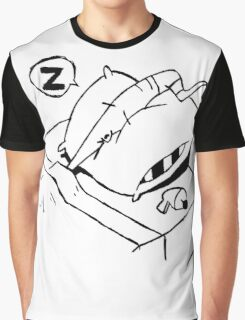 Earthworm Jim Takes a Nap Graphic T-Shirt
