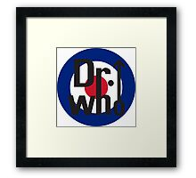 Dr. Who Framed Print
