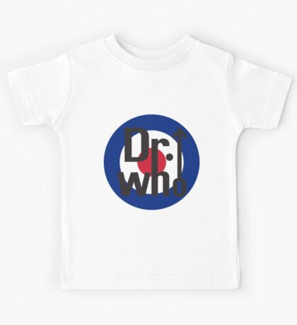 Dr. Who Kids Tee