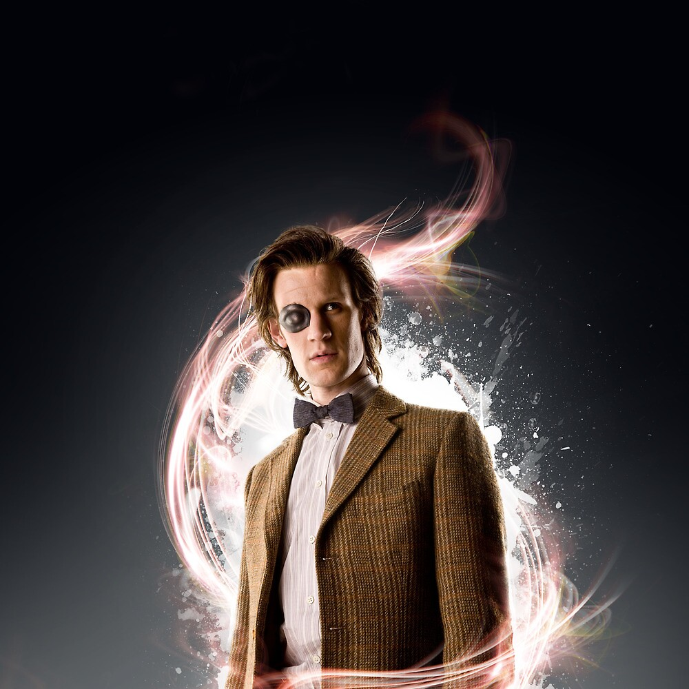 The Eleventh Doctor - Fractal Poster by retake25