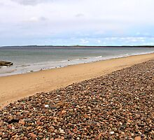 Burghead Bay at Findhorn, Moray Firth, Scotland  by asm1