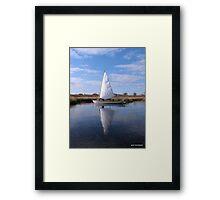 sail1 Framed Print