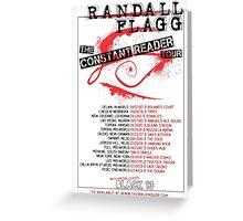 Randall Flagg World Tour- Metal/Hardcore/Punk Style Greeting Card