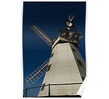 Upminster Windmill Essex England Rear View Poster