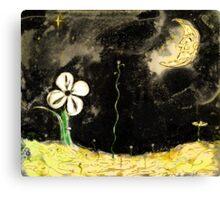 Wiggly Night Canvas Print