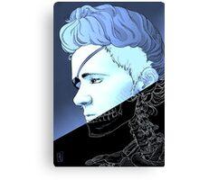 Rebel Madame Curie Canvas Print