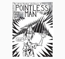 Pointless Man, title page (variant) by Cahl Schroedl