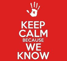 Keep Calm, We Know by xarispa