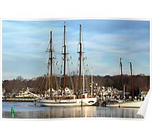 Mystic Seaport  Poster