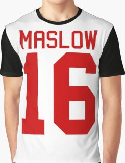 James Maslow jersey - red text Graphic T-Shirt