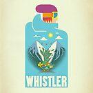 """""""Blue Bird"""" Whistler Village iPhone case by James Tuer"""