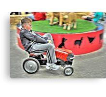 Peddle Kart Mania Canvas Print