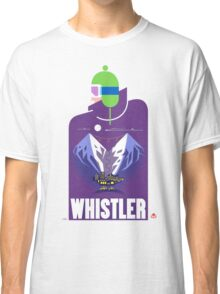 """Full Moon"" Whistler Village Shirt Classic T-Shirt"
