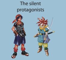 The Silent Protagonists by Matthewlraup