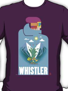 """""""Blue Bird"""" Whistler Village Shirt T-Shirt"""