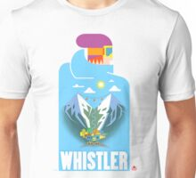 """Blue Bird"" Whistler Village Shirt Unisex T-Shirt"