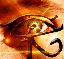 Eye of Horus by Sam Mitchell