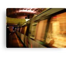 Metro Flash Canvas Print