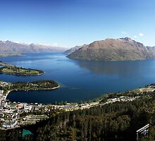 Queenstown Panorama by Robyn Lakeman