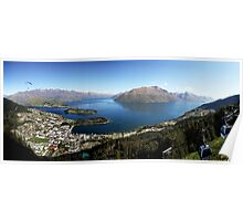 Queenstown Panorama Poster