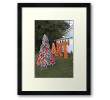 Art for Christmas Framed Print