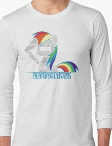 Brony Typography Long Sleeve T-Shirt
