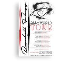 Randall Flagg World Tour- Contemporary/Jazz/Prog Rock Metal Print