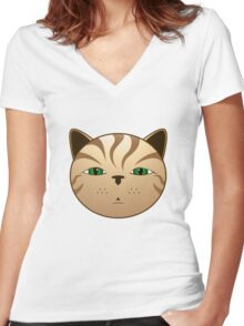 Buch Women's Fitted V-Neck T-Shirt